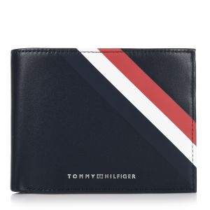 9f839decc0 Δερμάτινο Πορτοφόλι Tommy Hilfiger Bold Corporate CC Flap And Coin  AM0AM04535